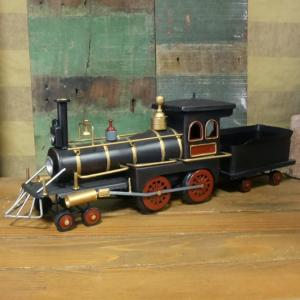 STEAM LOCOMOTIVE 機関車 ブリキのおもちゃ SL スチーム ロコモーティブ 鉄道 インテリア goodsfarm