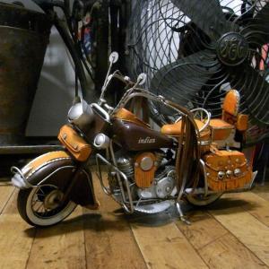 ブリキのおもちゃ インディアン バイク motorcycle western indian オートバイ goodsfarm