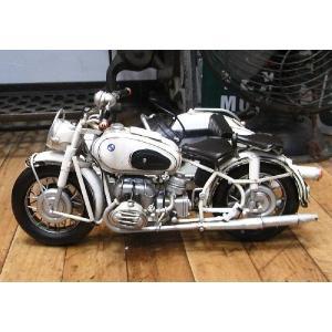 ブリキのおもちゃ サイドカー バイク BMW goodsfarm