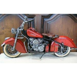 ブリキのおもちゃ バイク インディアン オートバイ goodsfarm