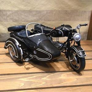 ブリキのおもちゃ バイク サイドカー BMW オートバイ goodsfarm