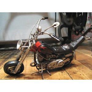 ブリキのおもちゃ チョッパー バイク ハーレーダビッドソン goodsfarm