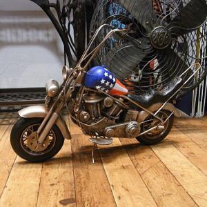 ブリキのおもちゃ チョッパーバイク イージーライダー オートバイ goodsfarm