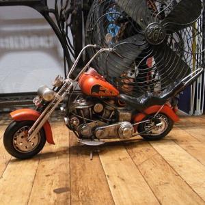 ブリキのおもちゃ チョッパーバイク オートバイ goodsfarm