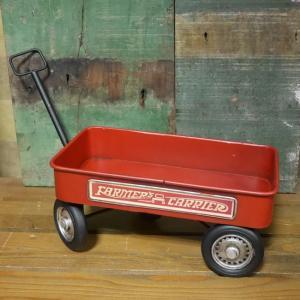 ブリキのおもちゃ サザン鉄道 宅配便 自転車|goodsfarm