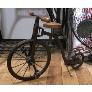 ブリキのおもちゃ 自転車 ブリキの自転車 インテリア|goodsfarm