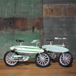 ブリキのおもちゃ 自転車 ビーチクルーザー ノスタルジックデコ インテリア goodsfarm