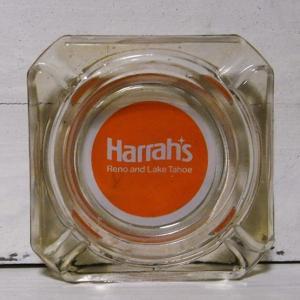 Harrah's ユーズド アンティーク灰皿 卓上灰皿 レトロ灰皿 goodsfarm