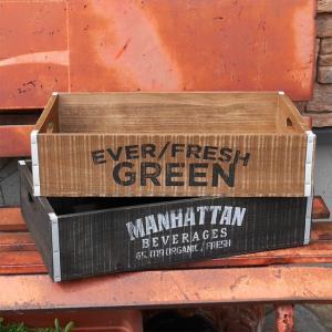 ウッドハーベストボックス 収納ボックス 木箱 クレート|goodsfarm