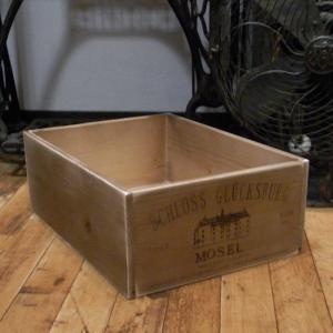 ワインボックス アンティーク モーゼル 収納ボックス インテリア|goodsfarm