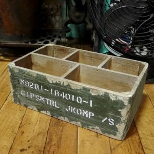 スウェーデン軍タイプ ストレージ ウッドボックス 収納木箱|goodsfarm