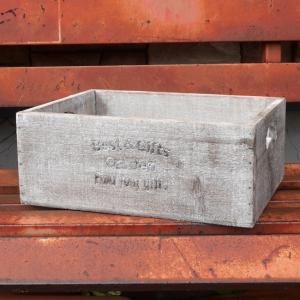 セドリュボックス L 収納ボックス 木箱 ガーデンプランター|goodsfarm