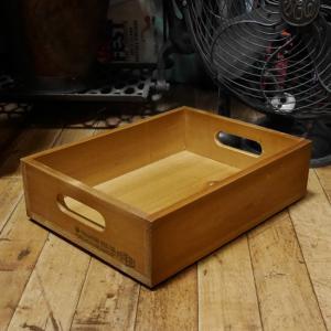ラスティック フラットボックス 収納 木箱 インテリア|goodsfarm