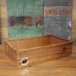 パインウッド ストックケース 収納 木箱 インテリア|goodsfarm