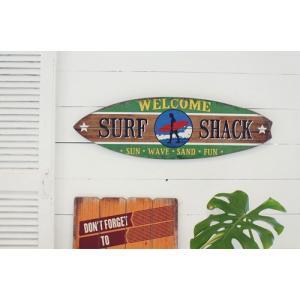 サーフボード デザインボード ハワイアンインテリア 木製看板|goodsfarm|06