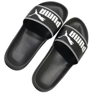 プーマ【PUMA】リードキャットシャワーサンダル 品番:360263-01  ブラック×ホワイト