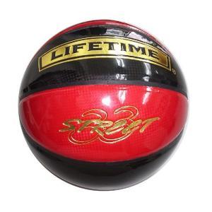 LIFETIME【ライフタイム】エナメルバスケットボール SBB-ST(赤×黒)7号|goodshop