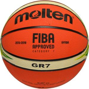 molten【モルテン】バスケットボール 7号球 (ゴム製) BGR7|goodshop