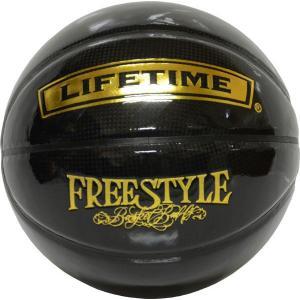 LIFETIME【ライフタイム】バスケット 7号ボール SBB-FR2 (ブラック×ゴールド)|goodshop