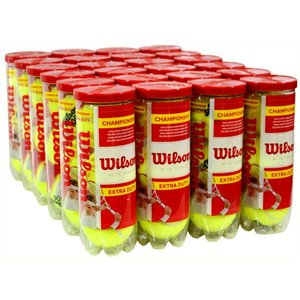 ウィルソン・硬式テニスボール3Pパック(WRT101100)【エクストラ・デューディー】72球