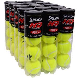 スリクソン【SRIXON】硬式テニスボール「SRIXON HD」 4P缶×15=60球入り