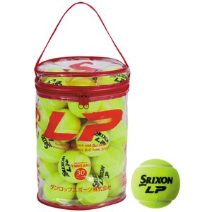 スリクソン【SRIXON】硬式テニスボール 「LP」ボール 30球パック