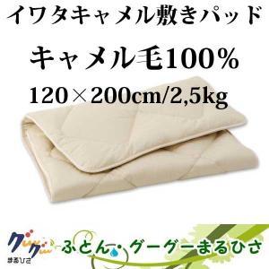 イワタ キャメル敷きパッド ライトタイプSD  120×200cm/2.5kg|goodsingu