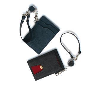 オロビアンコ Orobianco リールホルダー パスケース カードケース ID 定期入れ メンズ レディース 別注 REEL HOLDER レザー 本革 ORHO-002|Goods Lab Plus