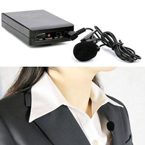 ワイヤレスピンマイク コードレス 電池式 タイピン型 無線