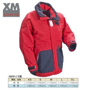 コースタルジャケット レッド/ブラック goodspeed