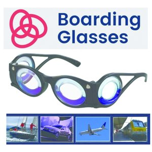 ボーディンググラス 【乗り物酔い予防メガネ】 Boading Glasses|goodspeed