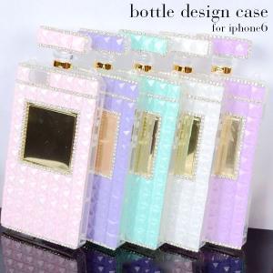 宅配便送料無料メール便のみ送料無料2 Apple iPhone6対応  デコレーション香水ボトルデザイン iphone6ケース|goodstown