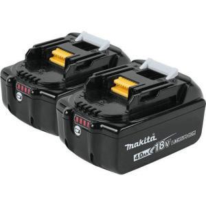 マキタ 18V 純正 バッテリー BL1840 2個セット!!   残量表示付 電動工具 リチウムイオン