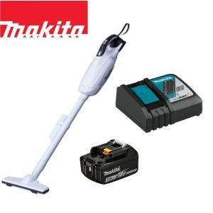 マキタ CL182FDZW コードレス掃除機 18V 紙パック式 BL1820 急速充電器 DC18...