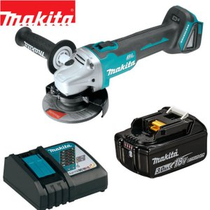 マキタ 18V 充電式 ディスクグラインダー GA504DZ同等品 バッテリー 充電器セット ブラシレス コードレス|goodtools