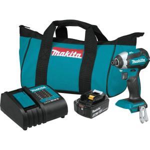 マキタ  インパクトドライバー ブラシレス 18V 4点セット バッテリー ケース 充電器|goodtools