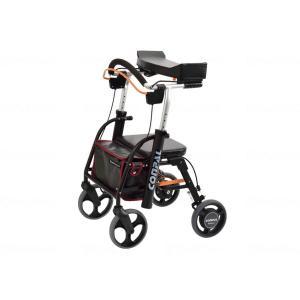 抑速ブレーキ付前腕支持型歩行車 コンパルリハモ NCR-8A-TA|goodway