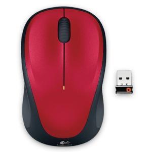 ロジクール M235rRD レッド 2.4GHzワイヤレス レーザーマウス Logicool Wireless Mouse M235|goodwill