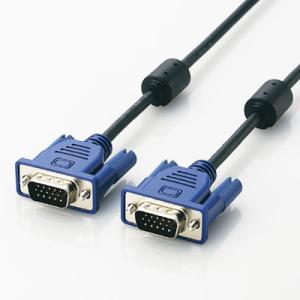 ELECOM CAC-50BK D-Sub15ピン(ミニ)ケーブル 5.0m|goodwill