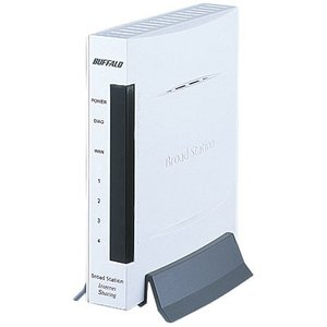 BUFFALO BBR-4MG 有線ブロードバンドルータ BroadStation エントリーモデル|goodwill