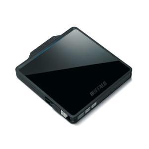 バッファロー DVSM-PC58U2V-BKC ポータブルDVDドライブ USB2.0対応 ブラック