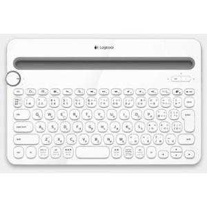 ロジクール K480WH Bluetoothキーボード マルチOS対応、パソコン・スマートフォン・タブレットなど3つのデバイスを簡単に切り替え操作|goodwill