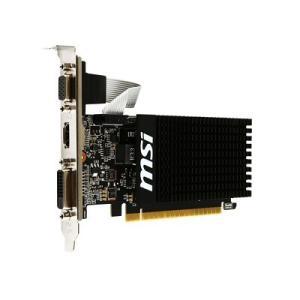 MSI GT 710 2GD3H LP GT710搭載グラフィックカード 2GBモデル ファンレス/ロープロ対応 goodwill
