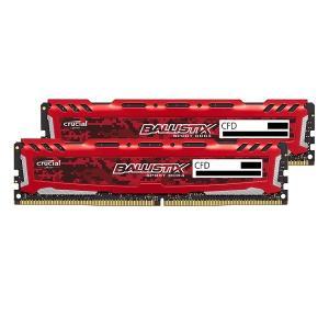 crucial W4U2400BMS-16G/R  DDR4 PC4-19200 16GB 2枚組 デスクトップ用メモリ ゲーミングモデル|goodwill