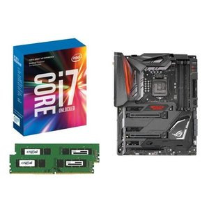 [お買い得3点セット]Intel Core i7 7700K+DDR4-2400 8GB×2枚+ASUS MAXIMUS IX CODE 3点セット goodwill