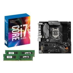 [お買い得3点セット]Intel Core i7 7700K+DDR4-2400 8GB×2枚+ASUS STRIX Z270G GAMING 3点セット goodwill