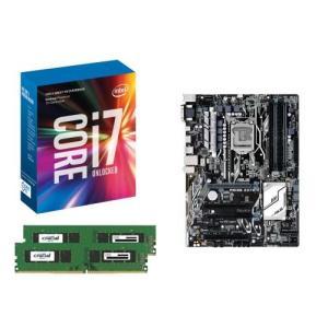 [お買い得3点セット]Intel Core i7 7700K+DDR4-2400 8GB×2枚+ASUS PRIME Z270-K 3点セット goodwill
