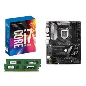 [お買い得3点セット]Intel Core i7 7700K+DDR4-2400 8GB×2枚+ASUS STRIX H270F GAMING 3点セット goodwill