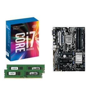 [お買い得3点セット]Intel Core i7 7700K+DDR4-2400 8GB×2枚+ASUS PRIME H270-PLUS 3点セット goodwill