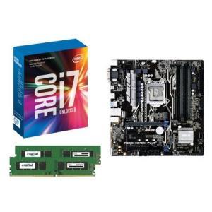 [お買い得3点セット]Intel Core i7 7700K+DDR4-2400 8GB×2枚+ASUS PRIME H270M-PLUS 3点セット goodwill